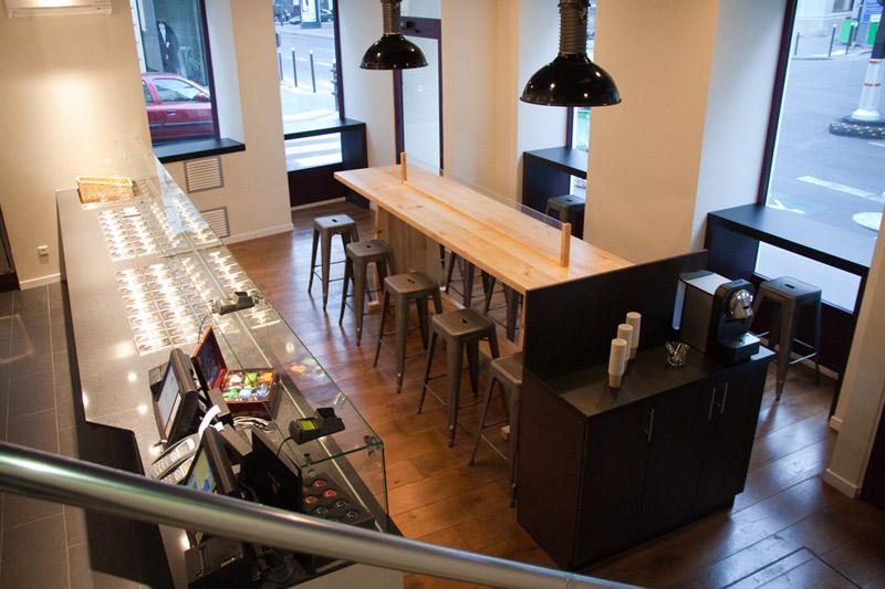 Agencement d\'un bar à salade de luxe Paris | Bar à salade | salad bar