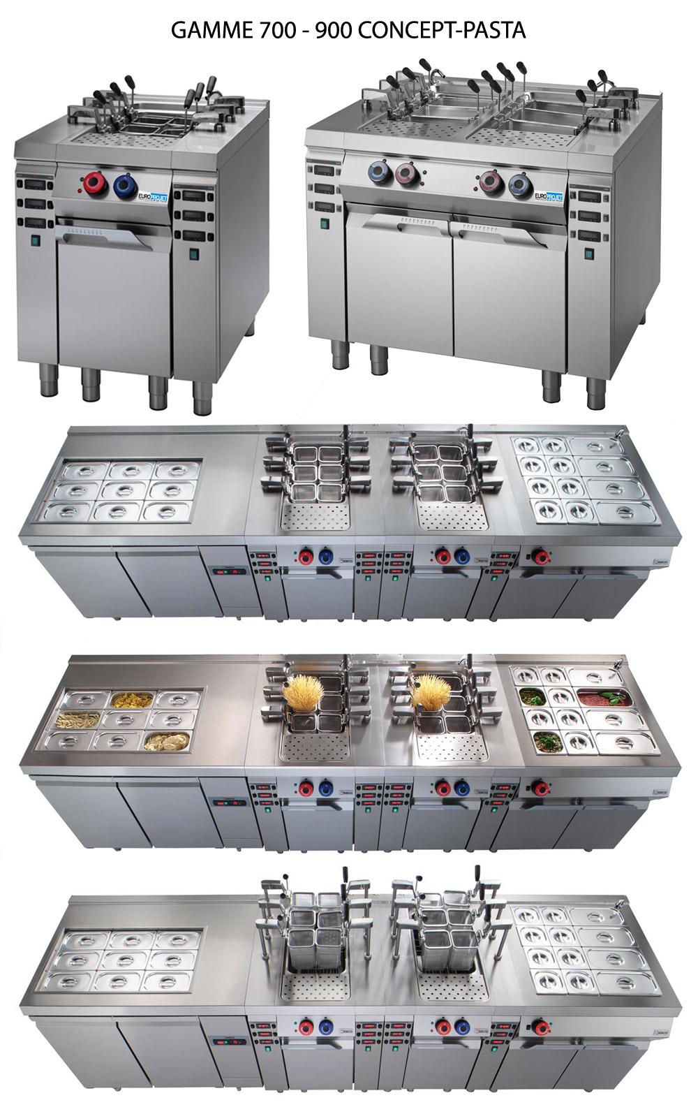 Desco cuiseur automatique p tes bar p tes for Materiel restauration rapide professionnel