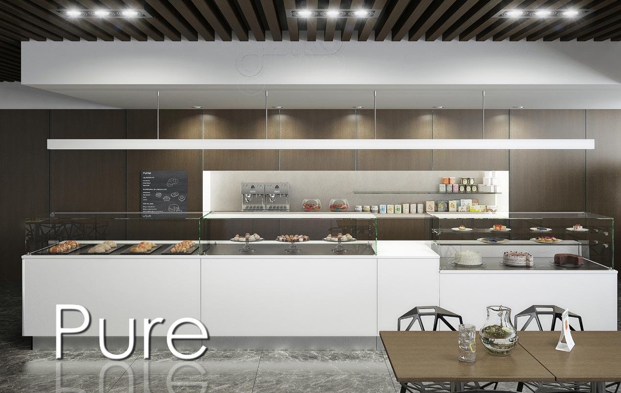 Agencement restaurant bar brasserie for Meuble a boisson